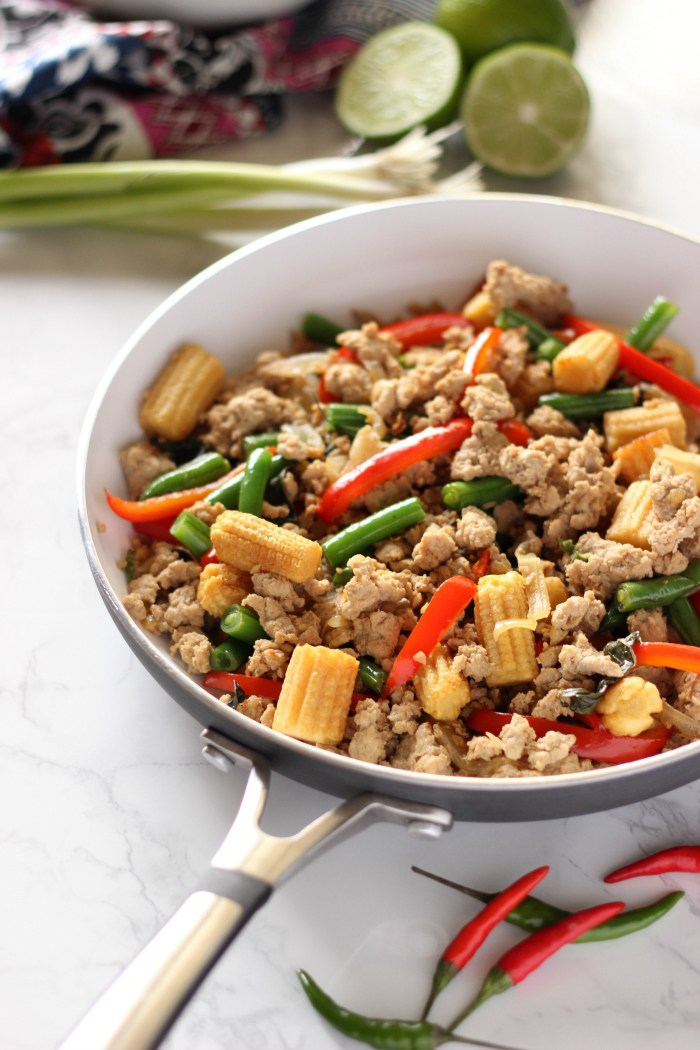 thai turkey stir fry